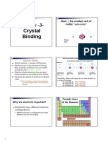 Chapter 3- Crysttal Binding