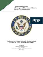 Housing Crisis Report