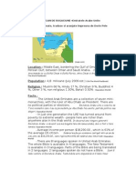 Plan de Rugaciune Emiratele Arabe
