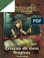 Tormenta RPG - Criação de Itens Mágicos - Taverna do Elfo e do Arcanios
