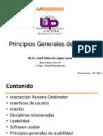 1.- Principios Generales de Diseño