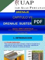 Cap. 7 Drenaje Subterraneo