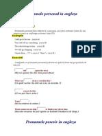 The Pronoun and Exercices