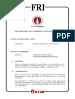 Syllabus Pueblos Indigenas y Cosmovision