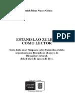 Estanislao Zuleta como lector