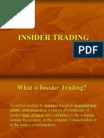 Insider Trading (SEBI)