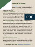 Bolivia Agricultura Esp