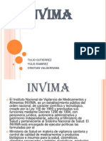 Diapositivas de Invima