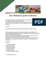 Tuto Multimetre Guide d