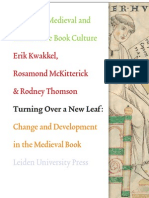 Change and Development in the Medieval Book