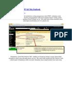 Cara Setting POP3 Di Ms Outlook