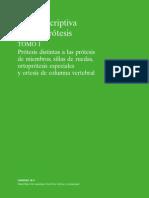 Guia Descriptiva de La Ortoprotesis Tomo I Nueva Edicion