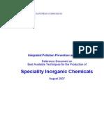 BREF Especialidades Quimicas Inorganicas