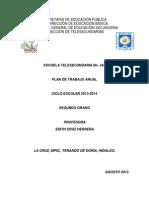 Plan Anual GRUPO 2do 2013-4 EDITH