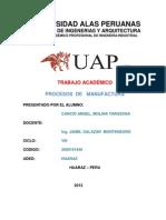 Trabajo Academico Procesos de Manufactura