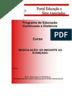 MUSCULAÇÃO DO INICIANTE AO AVANÇADO MOD. I
