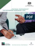 Assessing Strategic Partnership