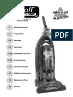 Bissell Lift-Off MultiCyclonic Pet HEPA Upright Vacuum 89Q9