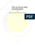 Charter of Rules and Governance