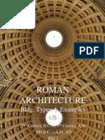 Roman Architecture Lec 2