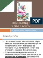 Trastorno Facticio y simulación