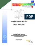 Manual de Proyectos Agosto 2007