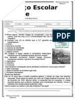 3ºano-atividades-MODULO DA BANCA COMEÇO