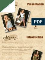 Kariza Wrap Skirt Presentation