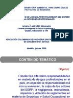 (2) Legislación del SGRP