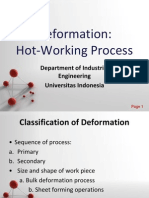 Hot Working Process