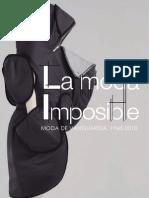 Catalogo Moda Imposible