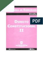 Coletânea de Exercícios - Direito Constitucional II (1º semetre 2008)(pdf)(rev)