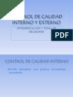 Control de Calidad Interno y Externo