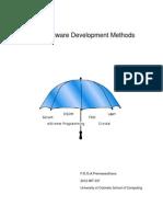 Agile Software Development Methods