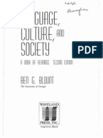 Hymes Ethnography