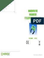 Handbook for Magnaflux Y7 Electromagnetic Yoke Nov 11 English n Printable Version