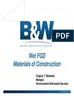 4-Wet FGD Materials of Construction