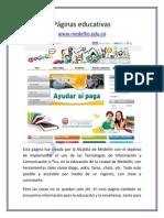 Páginas educativas