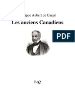 Philippe Aubert de Gaspe Les Anciens Canadiens