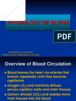 Physiology of Blood & Eritrhocyte