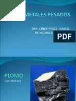 METALES PESADOS TOXICOLOGIA