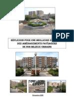 Etude-Etats de lieu des aménagements paysagers en milieux urbains Algériens