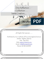 One Day One Refelection - Introduction and Autobio Graphy