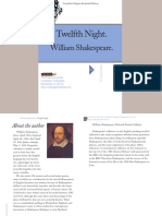 William Shakespeare Twelfth Night