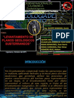 108699602 Levantamiento de Planos Geologicos Subterraneos Jhon Copia