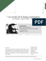 Oostra – Una reseña de la lógica matemática de Charles S. Peirce (1839 – 1914)