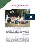 Informe Viaje a La Base Azul 2007
