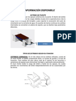 ESTRIBO de PUENTE (b) Informacion Disp.