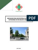 Etude-Nouvelle reflexion pour une charte paysagère en Algérie