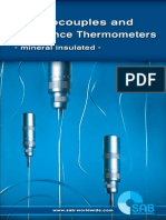 Thermocouple Sand Resistance Thermometers